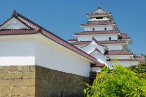 福島県会津若松市の「鶴ヶ城」