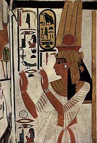 ネフェルタリ 墓室の内壁に描かれた肖像