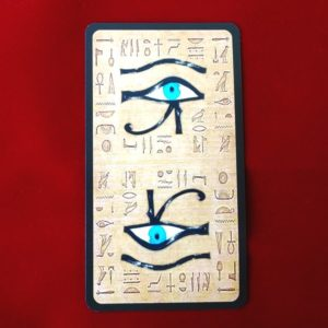 ネフェルタリ・タロットカードの裏面のデザイン
