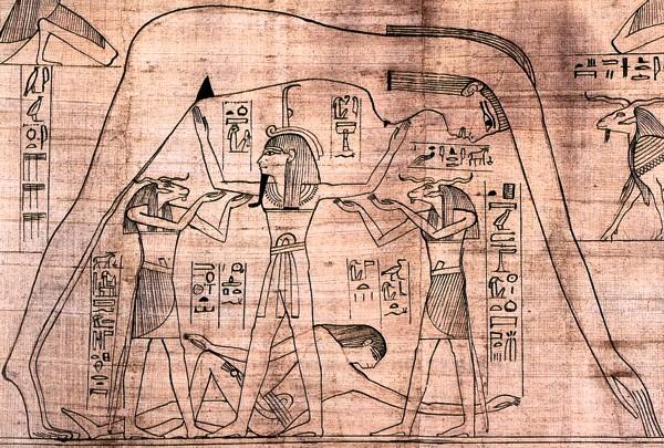 Wikipedia引用:エジプト神話「世界観」