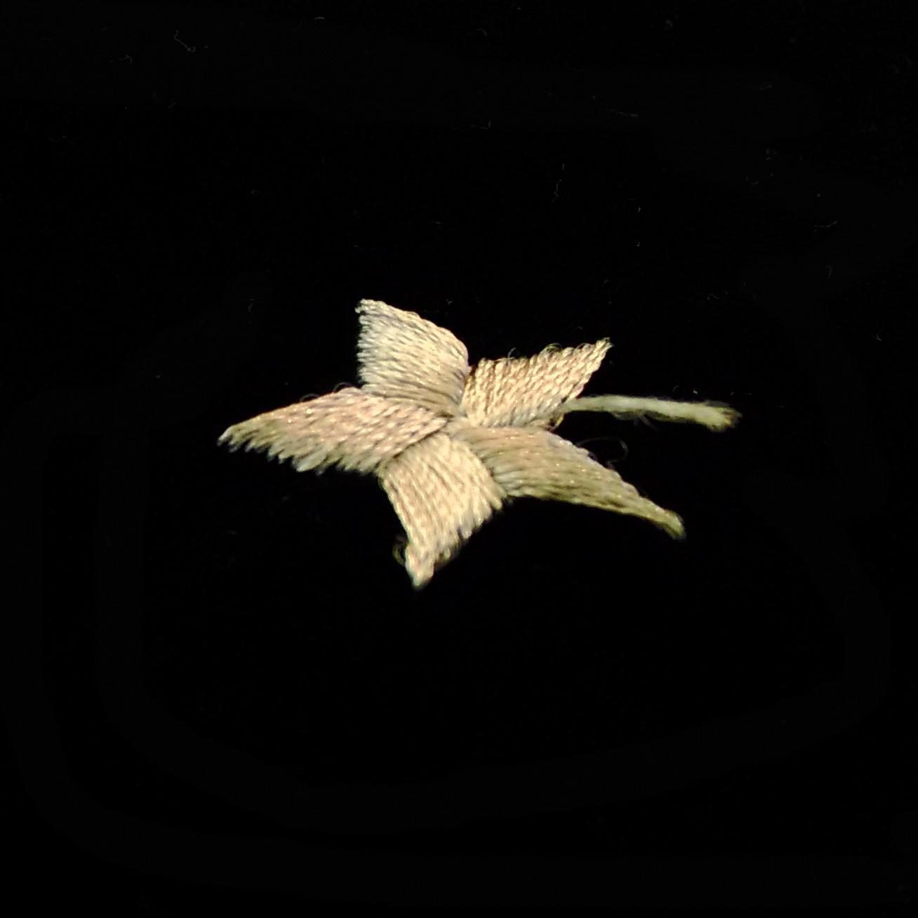 タロットカードクロス ムーン&スターの星の刺繍
