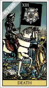 ウェイト版タロットカード 大アルカナ 死神