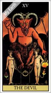 ウェイト版タロットカード 大アルカナ 悪魔