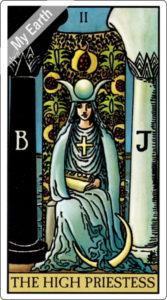 ウェイト版タロットカード 大アルカナ 女教皇
