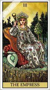 ウェイト版タロットカード 大アルカナ 女帝
