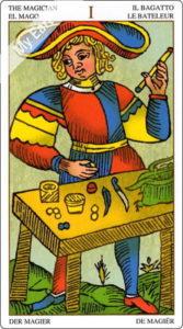 ユニバーサル・タロット・オブ・マルセイユ 魔術師